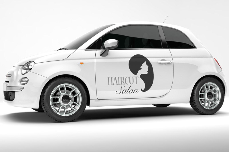 Clipart used woman custom vinyl lettering