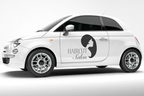 Clipart used: WOMAN & custom vinyl lettering