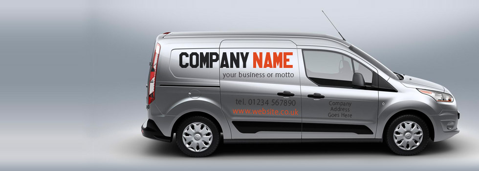 Vinyl Lettering Online UK - Vehicle decals for business application